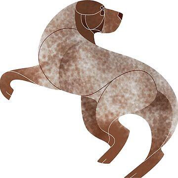 Year of the Dog - Burgos Pointer by Kelgrid