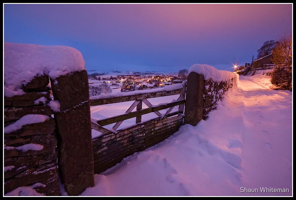 Settle sleeps under a blanket of snow by Shaun Whiteman