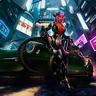 Neon Dystopia by goodwolf