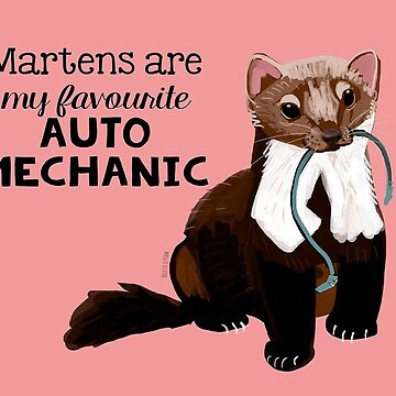 Martens are my favourite auto mechanic by belettelepink