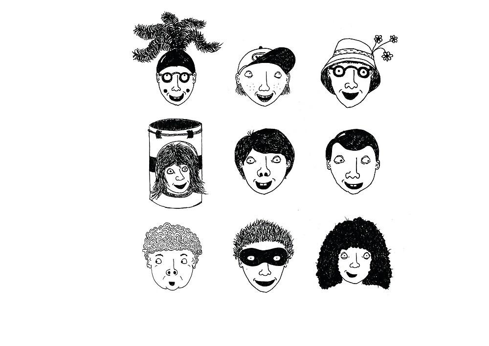 Nine Heads by Aaron  Cook