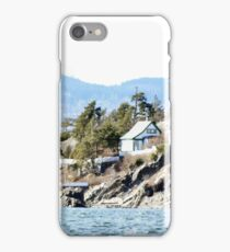 Homes on the fjord iPhone Case/Skin