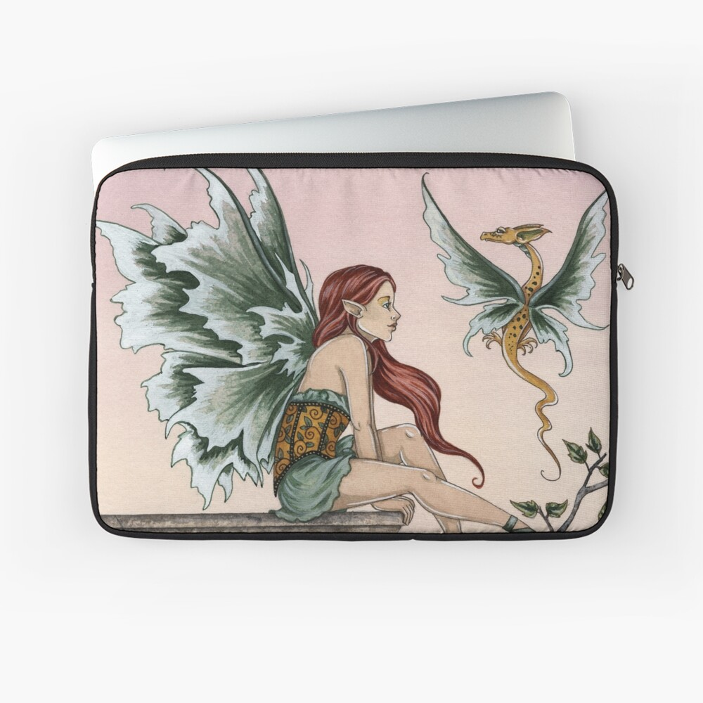 Golden Dragons Laptop Sleeve