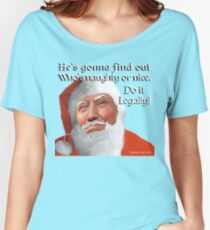Naughty or Nice Women's Relaxed Fit T-Shirt