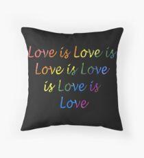 Love is Love is Love is Floor Pillow
