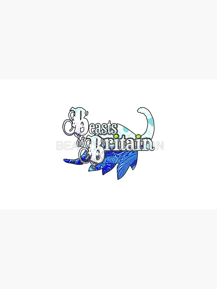 Beasts of Britain - Ice Blue by BEASTSOFBRITAIN