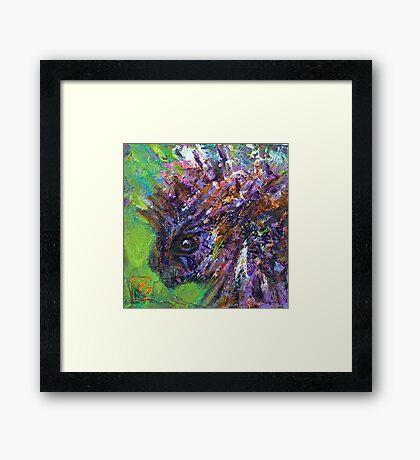 Earth Keeper: Porcupine Framed Print