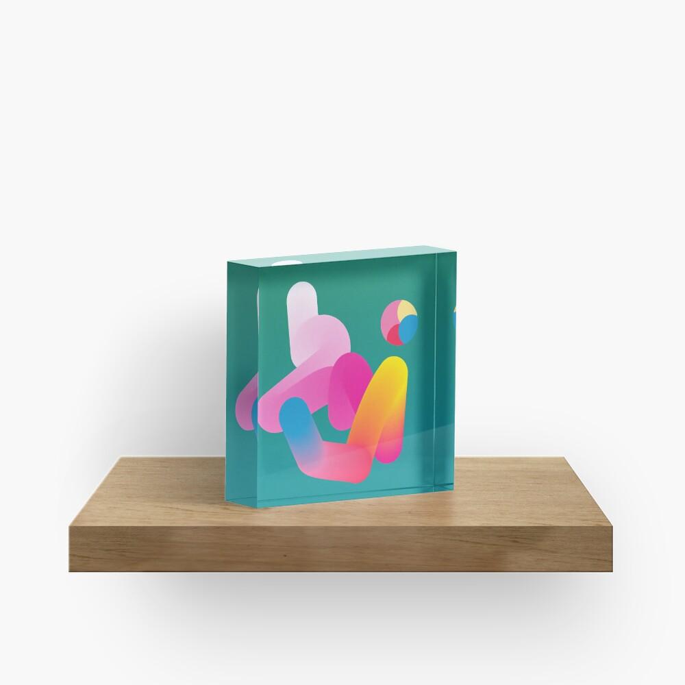 Emerald Eason Acrylic Block