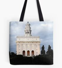 Nauvoo Illinois Temple at Dusk Tote Bag