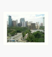 Makati City I Art Print