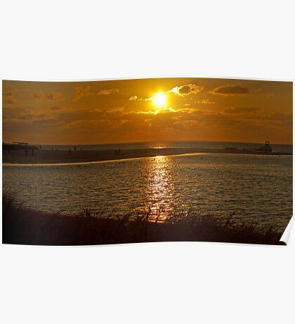 Coral Bay Sunset Take 286 Poster