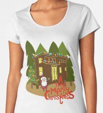 A Tiny Merry Christmas Women's Premium T-Shirt