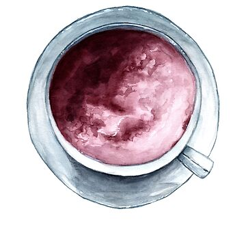 My Cup Of Tea - Watercolour Painting by patti2905
