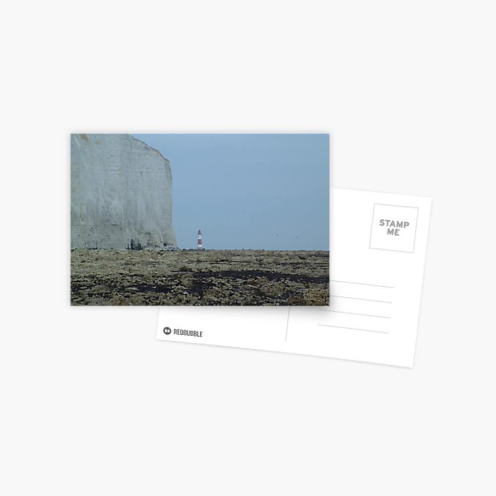 Dwarfed lighthouse Postcard