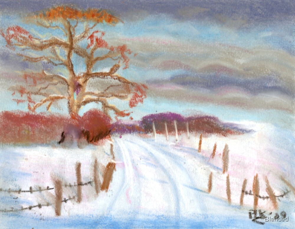 Winter 2010 - Winter Road by Blended