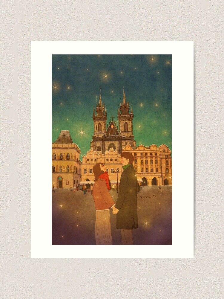 Alternate view of Prague, Czech Republic Art Print