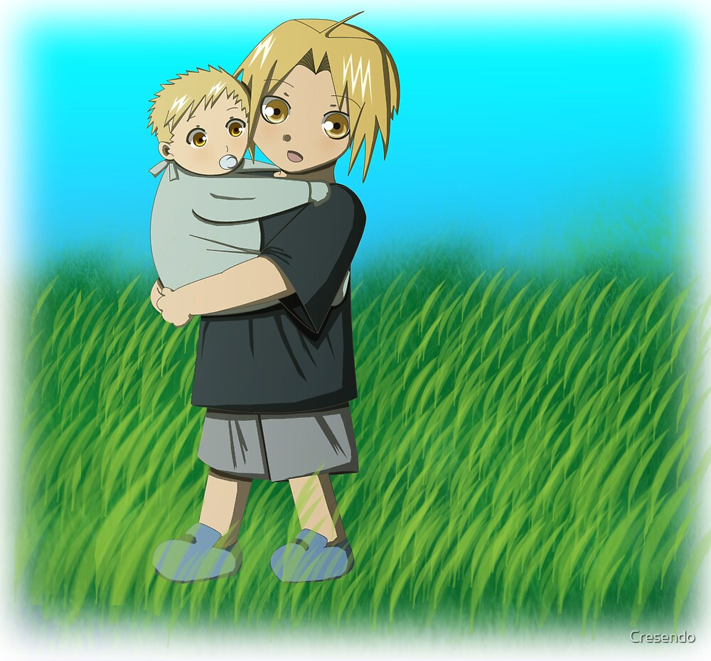 Ed and Al as Kids by Cresendo