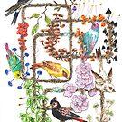 Vögel, Pflanzen & Pilze von MushroomOTD