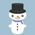 Snowman by Tjaša Rome