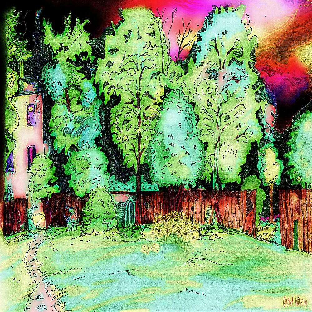 Tree scene by Grant Wilson