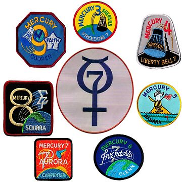 Project Mercury Composite Patches by Spacestuffplus