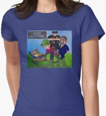 Metal Detecting Make new Friends Women's Fitted T-Shirt
