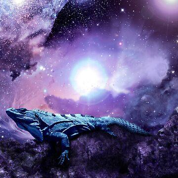 Wicked Lizard by indigocrow