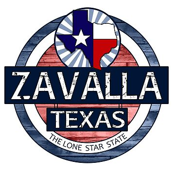 Zavalla Texas rustic wood circle by artisticattitud
