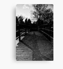 Bridge Over the River Coln Canvas Print