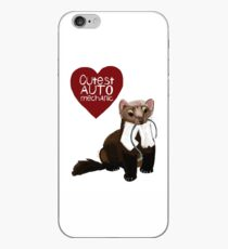 Cutest auto mechanic Vinilo o funda para iPhone