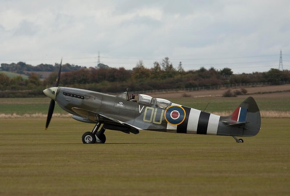 "The ""Grace"" Spitfire flown by Carolyn Grace by PhilEAF92"