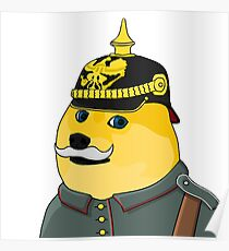 Prussian Doge Poster