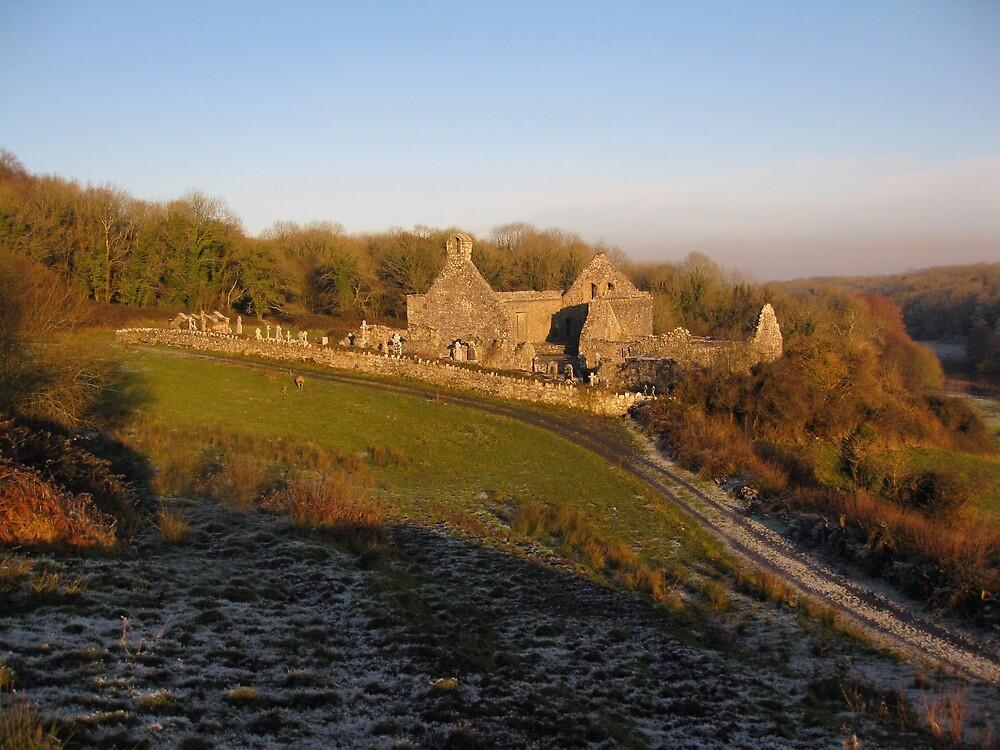 Killowen Abbey by John Quinn