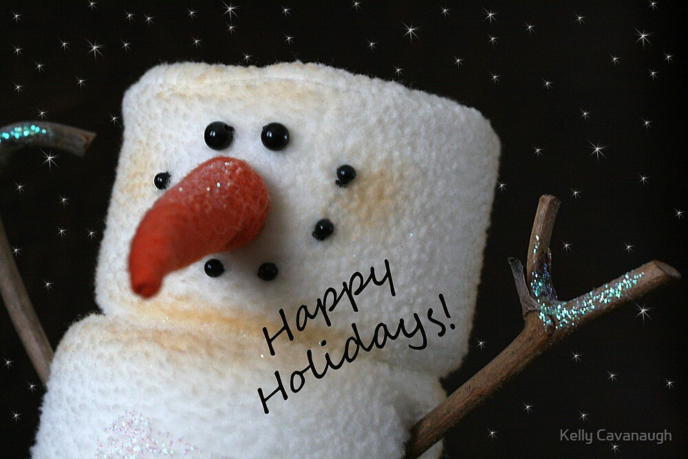 Happy Holidays! by Kelly Cavanaugh