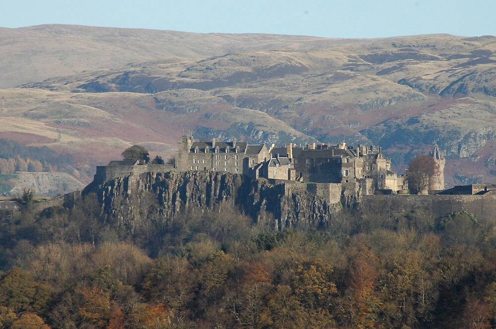 Stirling Castle and Wallace Monument by Bob Leckridge