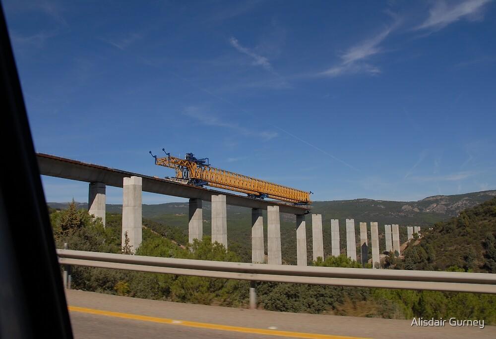 Bridge Building in Spain by Alisdair Gurney