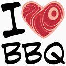 I Love BBQ by fizzgig