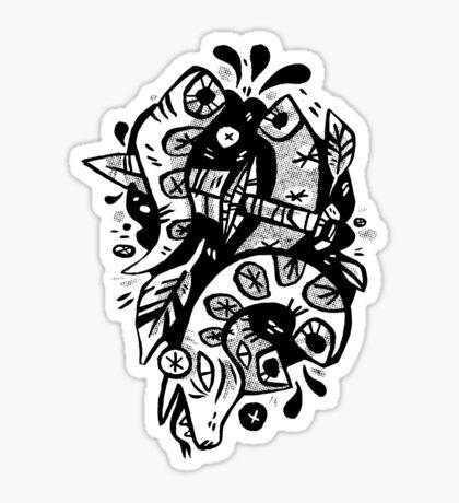 chopped Sticker