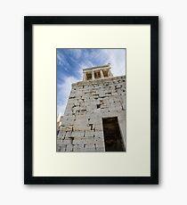 Acropolis Stones Framed Print