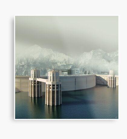 Hoover Dam Metal Print