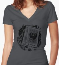 cards Women's Fitted V-Neck T-Shirt