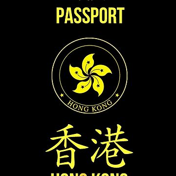 Hong Kong Autonomy Movement Passport   by Martstore
