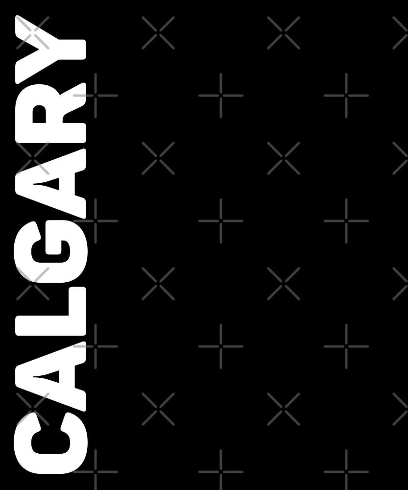 Calgary T-Shirt by designkitsch