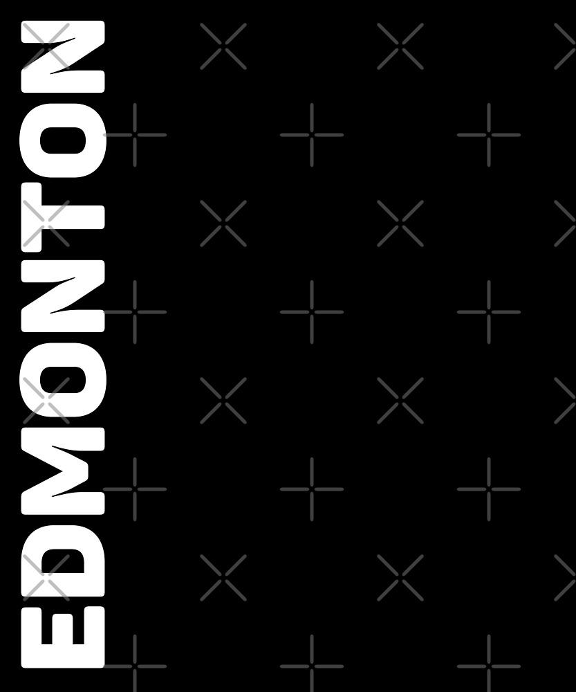 Edmonton T-Shirt by designkitsch