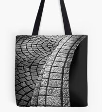 Afternoon Silver Tote Bag