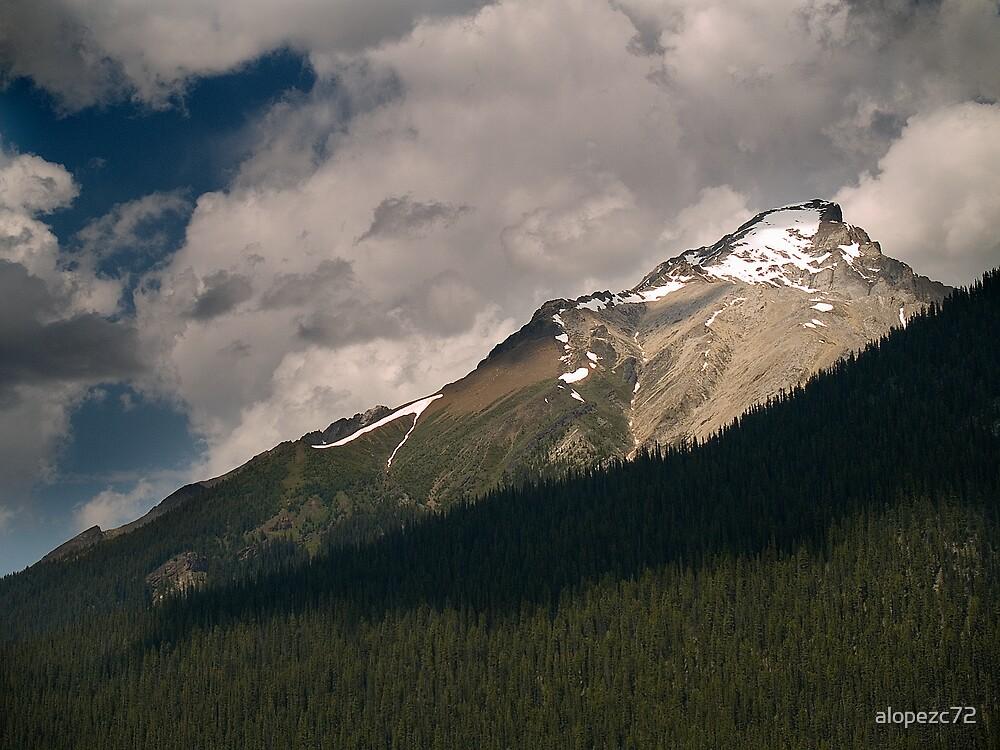 Landscape from the Maligne Lake , Jasper National Park , Canada by alopezc72