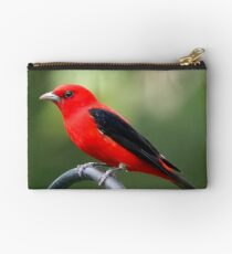 Scarlet Tanager Studio Pouch