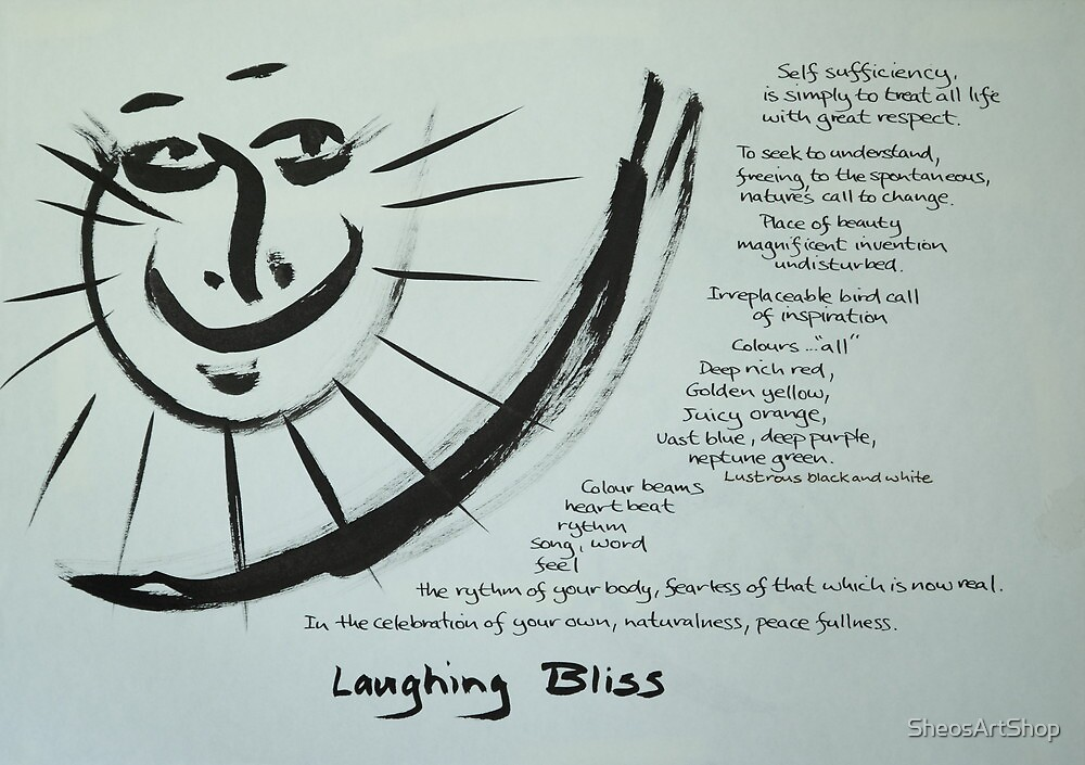 Laughing Bliss by SheosArtShop