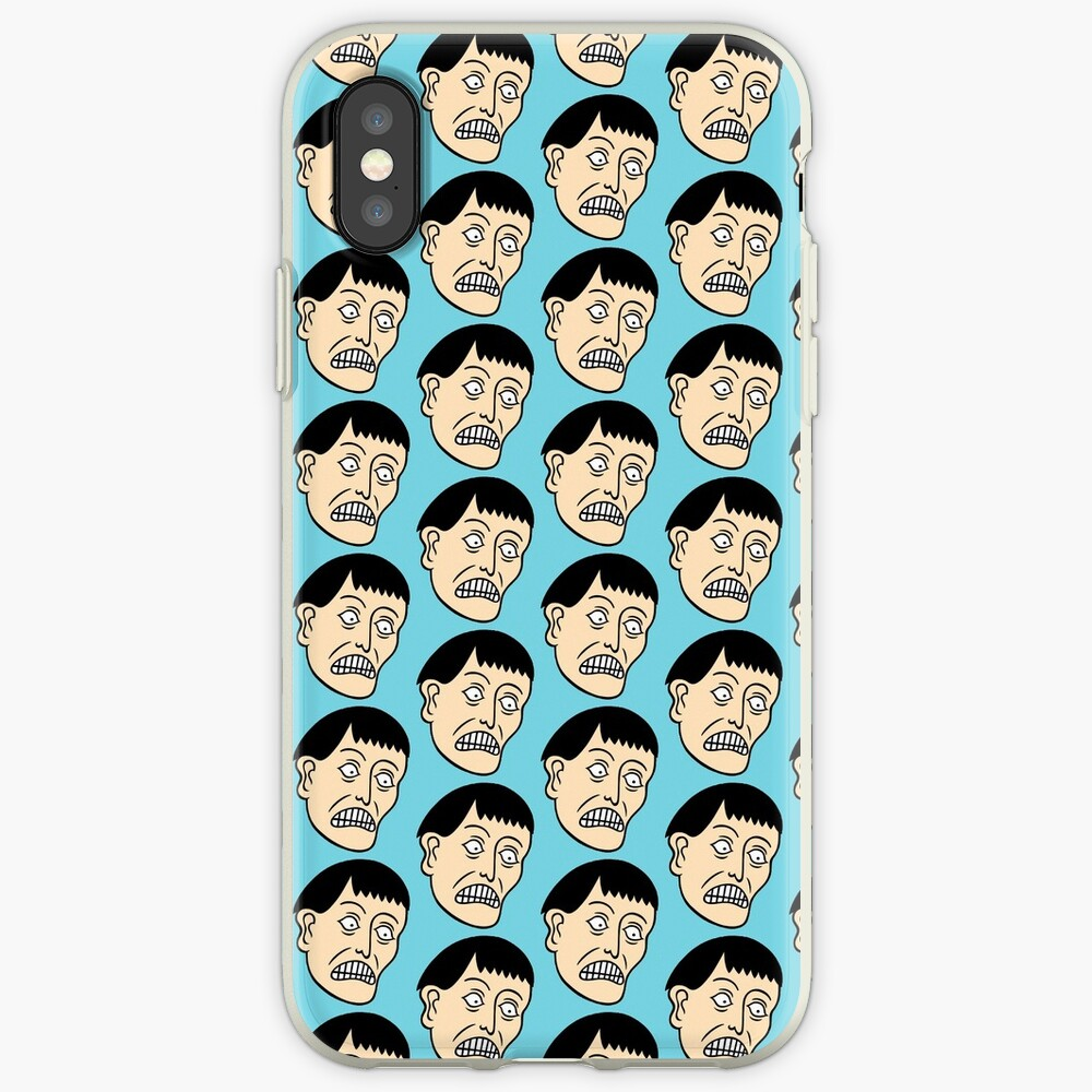 Looking down on the face of the earth iPhone Case & Cover