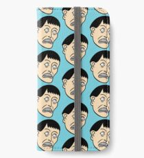 Looking down on the face of the earth iPhone Wallet/Case/Skin